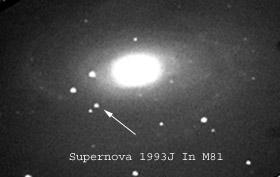 Gal. spirale M81 con supernova SNe 1993